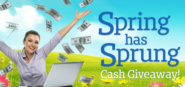 Spring has Sprung Cash Giveaway!
